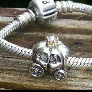Pandora Carriage Charm #790598P.